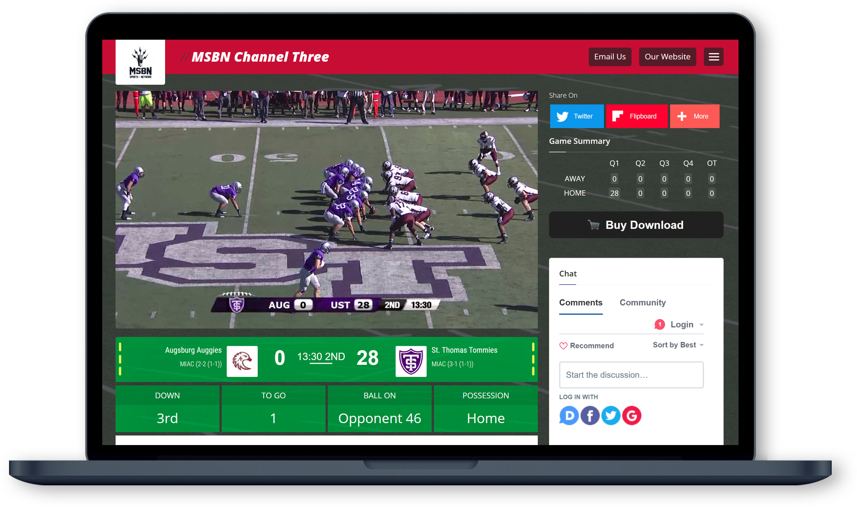Live Streaming HD Video & Audio Platform for Sports | Meridix
